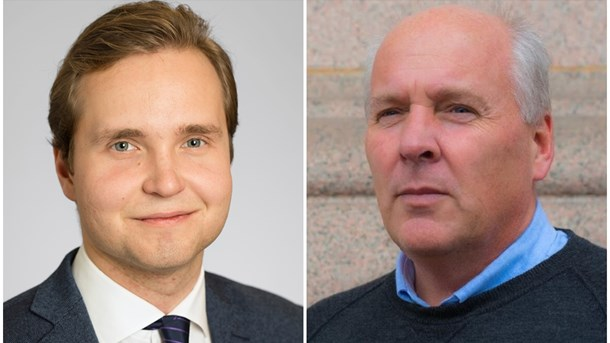 Gabriel Kroon (SD) och Peter Wallmark (SD).